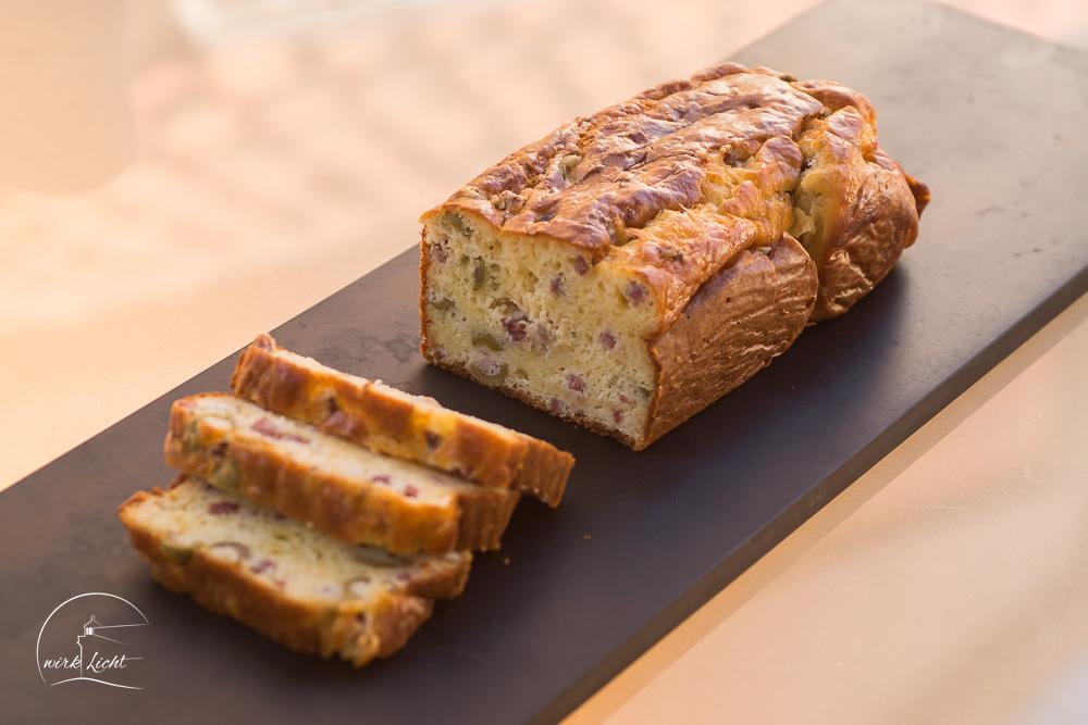Herzhafter Kuchen Franzosischer Art Kreativblock